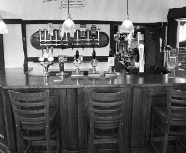 White Lodge bar.