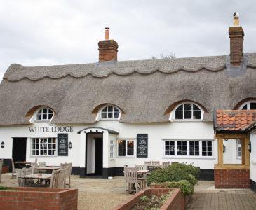 The White Lodge in Attleborough.