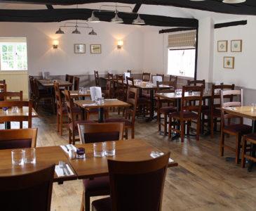 Restaurant at The White Lodge.