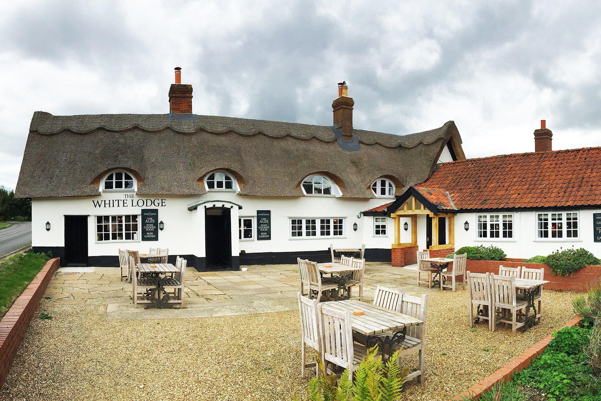 The White Lodge Attleborough.