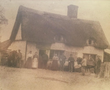 Historical picture of The White Lodge.