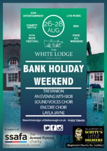 August Bank Holiday weekend at The White Lodge in Attleborough.