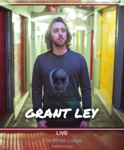 Grant Ley live at The White Lodge.